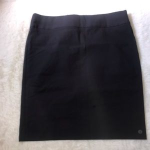 The limited navy blue pencil skirt 16